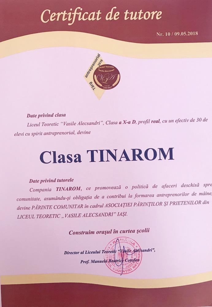 Clasa Tinarom