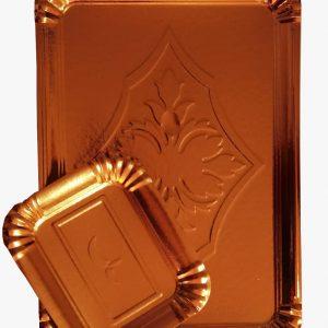 Tavita carton auriu